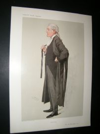Vanity Fair Print 1906 John Eldon Bankes, Legal